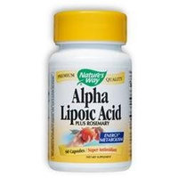 tures Way Alpha Lipoic Acid 60 Caps from Nature's Way