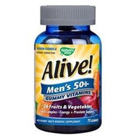 tures Way Nature's Way Alive! Men's 50+ Gummy Vitamins