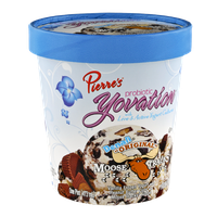Pierre's Probiotic Yovation Denali Original Moose Tracks Frozen Yogurt