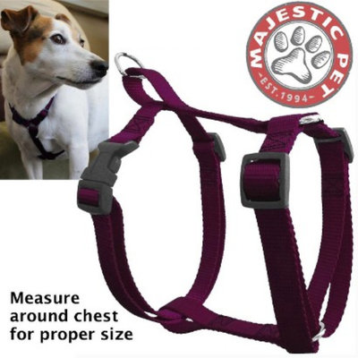 Target Home Majestic Pet Harness - Burgundy (Medium)
