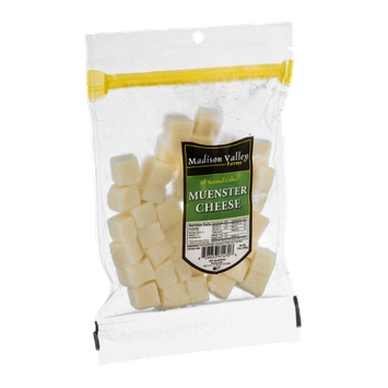 Madison Valley Farms Muenster Cheese Cubed