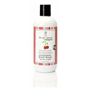 Deep Steep Refreshing Body Wash, Sweet Cherry and Almond, 10 Ounce