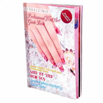 DIY Nail Art 3D UV Gel Acrylic Nails Glitters Painting Designs Step-by-step Instructions Guide Book New