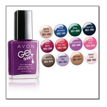 Avon Gel Finish 7 in 1 Nail Enamel Barely There
