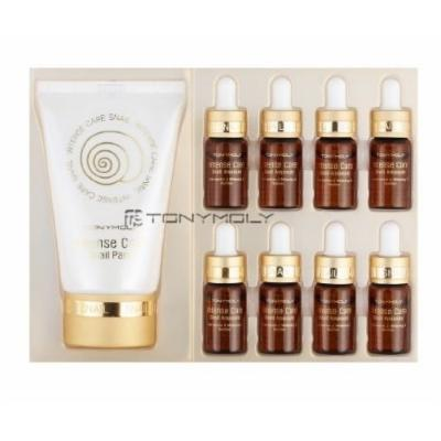 Tony Moly Intense Care Live Snail Ampoule Gift Set, 4m*8/50ml