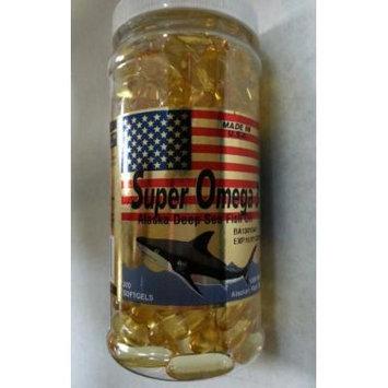Super Omega 3 Alaska Deep Fish Oil 1000mg EPA 360mg/DHA 240mg - 200 Softgels
