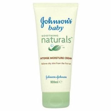 Johnsons Baby Soothing Naturals Intense Moisture Cream 100Ml- Pack Of 2