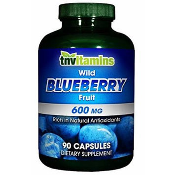 Wild Blueberry Fruit 600 Mg - 90 Capsules