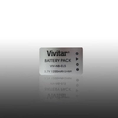 Vivitar Replacement Rechargeable Lithium Ion Battery for Nikon EN-EL5