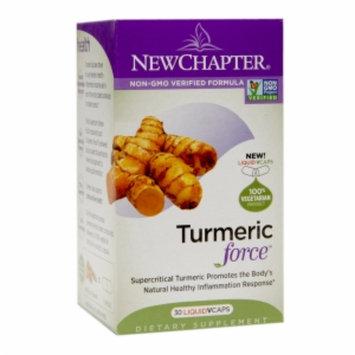 New Chapter Turmeric Force, Vegetarian Capsules, 30 ea
