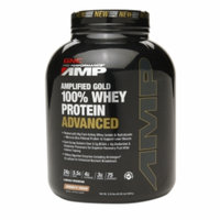 Gnc Pro Performance Amp GNC Pro Performance AMP Amplified Gold 100% Whey Protein Advanced, Cookies N Cream, 5.12 lbs