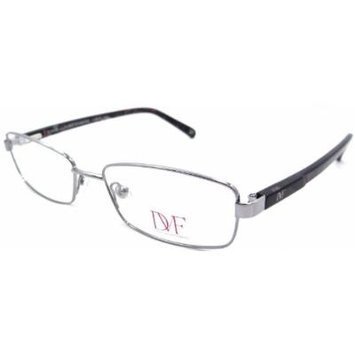 Dvf Diane Von Furstenberg Rx Eyeglasses Frames 8003 015 53x16 Light Gun Current
