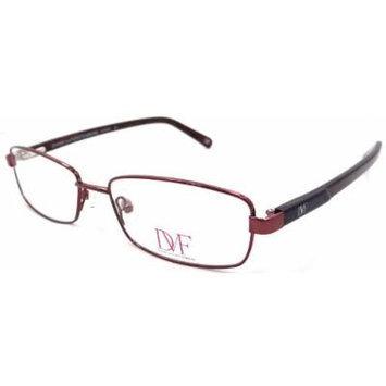 New Dvf Diane Von Furstenberg Rx Eyeglasses Frames Dvf8003 641 51x16 Bordeaux