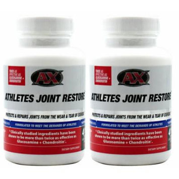 2 x Athletes Joint Restore 56ct by AX (2-Pack (2 Bottles))