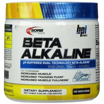 BPI Beta Alkaline Nutritional Drink, Unflavored, 5.64 Oz