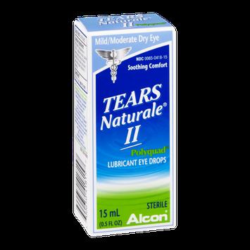 Tears Naturale II Polyquad Lubricant Eye Drops Mild/Moderate