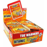 Hot Hands Hothands Toe Warmers With Adhesive English Display (Pack Of 6)