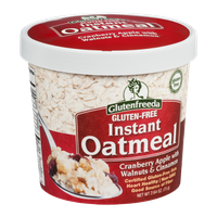 Glutenfreeda Instant Oatmeal Cranberry Apple with Walnuts & Cinnamon