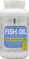 Amino Acid Botanical Amino Acid & Botanical - Omega-3 Fish Oil Lemon - 120 Capsules