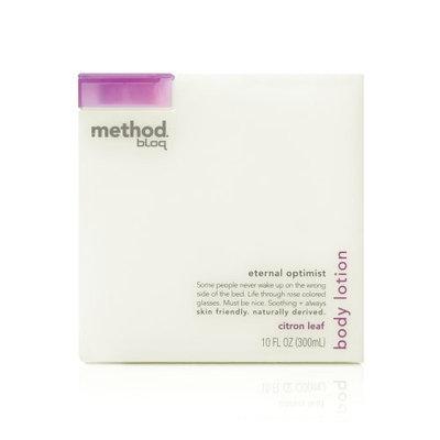 method bloq body lotion eternal optimist