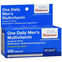 Walgreens One Daily For Men Multivitamin Tablets