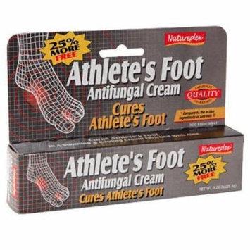 Natureplex Athlete's Foot Antifungal Cream, 1.25 oz. (2 Pack)