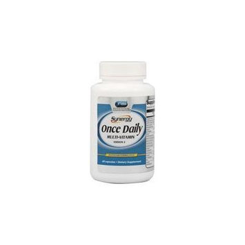 Vitacost Synergy Once Daily Multi-Vitamin Dietary Supplement -- 60 Capsules (Two Bottles each of 60 Capsules)