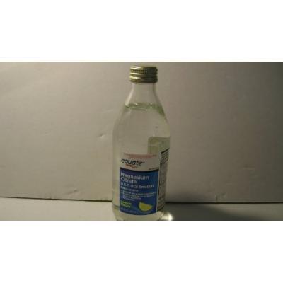 2 Bottles Lemon Flavor Magnesium Citrate Saline Laxative Equate 10 Oz