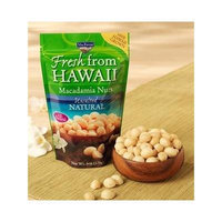 Macadamia Nuts, MacFarms Brand, All Natural - UNSALTED (2 BAGS)