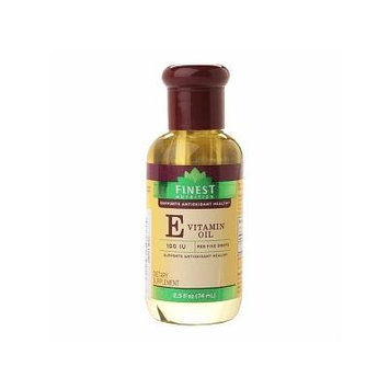 Finest Nutrition Vitamin E Oil 2.5 fl oz (74 ml)