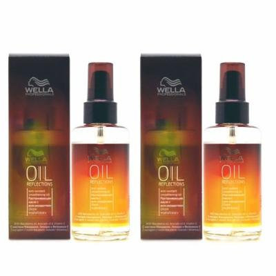 1 of Wella Professionals Oil Reflections Smoothing Oil 3.38oz (Pack of 2)