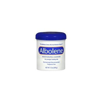 Albolene Concentrate Moisturizing Cleanser Cream Unscented, Unscented 12 oz (Pack of 6)