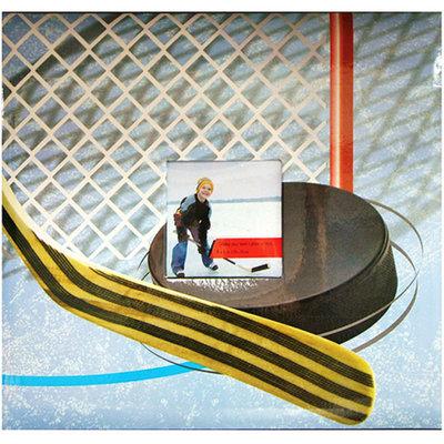 Notions Marketing Sport & Hobby Hockey Postbound Album - (12x12