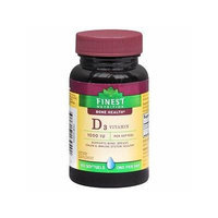 Finest Nutrition Vitamin D3 1000 Iu Softgels 100 ea