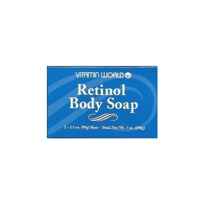 Vitamin World Retinol Body Soap - 2 Bars
