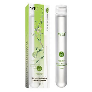 Wei East Mung Bean Sprout Stress-Relieving Soothing Mask, 1 ea