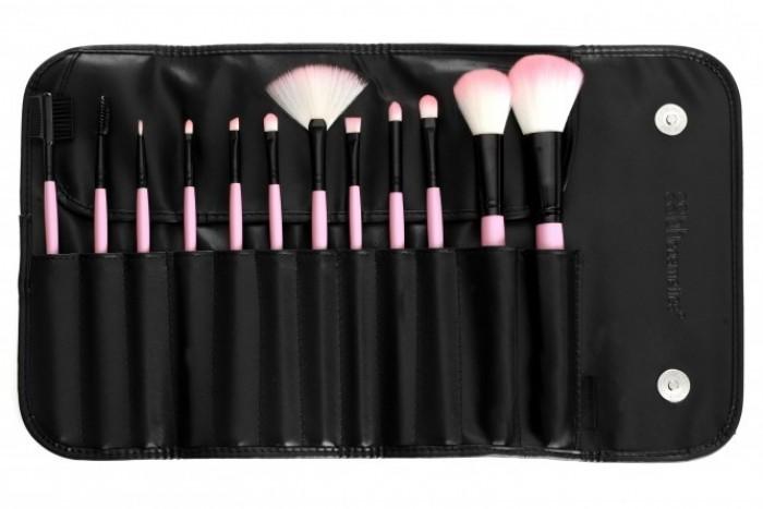 BH Cosmetics 12 pcs Pink Brush Set