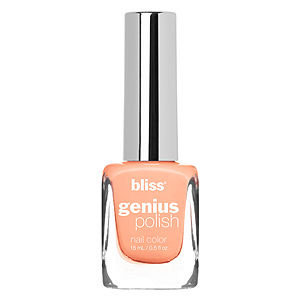 Bliss Color Genius Polish Nail Color, Peach For The Sky, .5 oz