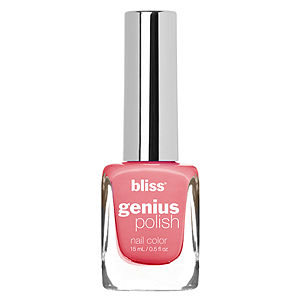 Bliss Color Genius Polish Nail Color, Beat Around The Blush, .5 oz