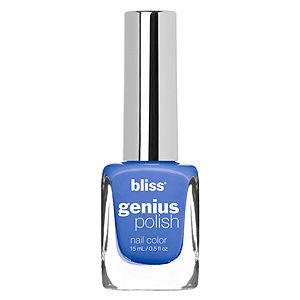 Bliss Color Genius Polish Nail Color, Fade Into The Blue, .5 oz