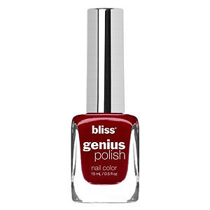 Bliss Color Genius Polish Nail Color, Cheers To You Cherry Wine, .5 oz