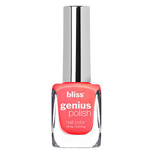 Bliss Color Genius Polish Nail Color, Coral Me Baby, .5 oz