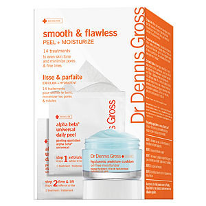 Dr. Dennis Gross Skincare Smooth and Flawless: Peel + Moisture, 1 ea