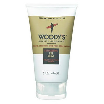 Woody's Exfoliating Pre Shave Cleanser 5 oz