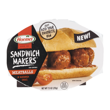 Hormel Sandwich Makers Meatballs