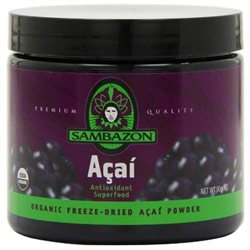 Sambazon Organic Acai Berry Power Scoop Drink Mix