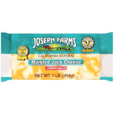 Joseph Farms Marbled Jack Cheese, 1 lb