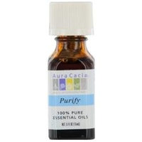 Aura Cacia Purify Essential Oil Blend 1/2 oz. bottle 191690