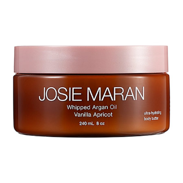 Josie Maran Whipped Argan Oil Ultra-Hydrating Body Butter Vanilla Apricot 8 oz