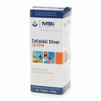 MBi Nutraceuticals Homeopathic Colloidal Silver 30 PPM